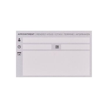 S-PRO Appointment Cards Hair 100pcs