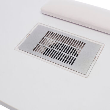 S-PRO Nail Station with Extractor Fan White