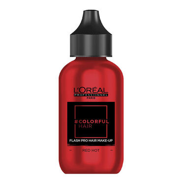 L'Oréal Colorful Hair Flash Pro Hair Make-Up 60ml - Red Hot