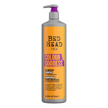 Tigi Bed Head Colour Goddess Farbpflegendes Shampoo für coloriertes Haar 970ml