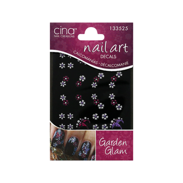 Cina Nail Art Decals Garden Glam