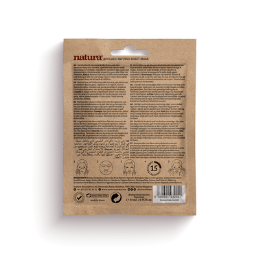 Natura Mask Avocado Infused Sheet 22ml