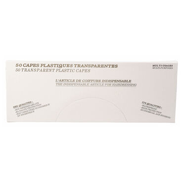 Sibel Tinting Cape Shoulders Disposable 50pcs/4410351