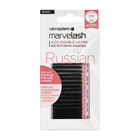 Marvelash Russian 0.07 Double Layer 8-12mm