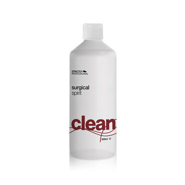 Strictly Professional Clean Surgical Spirit 500ml