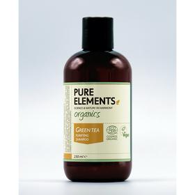 Pure Elements Reinigendes Grüner Tee Shampoo - BIO 250ml