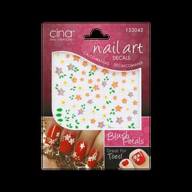 Cina Nail Art Decals Blush Petals