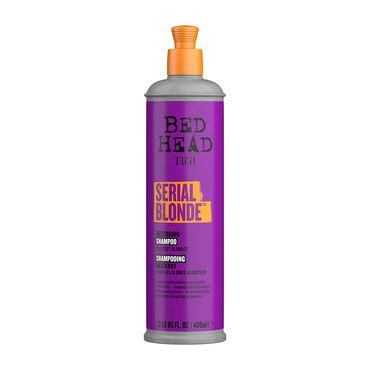 Tigi Bed Head Serial Blonde Regenerierendes Shampoo für mutige Blondinen 400ml