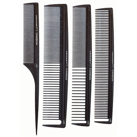 Cricket Comb Set Carbon 4pcs