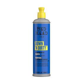 Tigi Bed Head Down N' Dirty Klärendes Detox Shampoo für city-gestresstes Haar 400ml