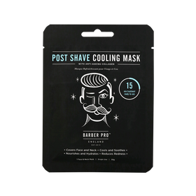 BARBER PRO Face Mask Post Shave Cooling 30g