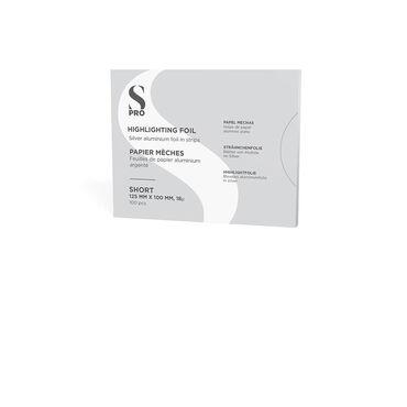 S-PRO Alu Foil Strips Short 125mmx100mmx18µ 100pcs
