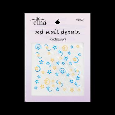 CINA Nail Art Decals Shooting Stars
