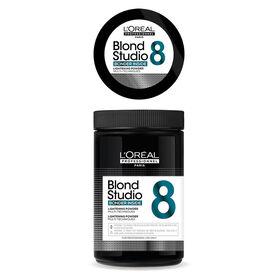 L'Oréal Blond Studio Multi-Technik 8 Blondierungspulver mit integriertem Bonder 500 g