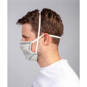 Wiederverwendbare Gesichtsmaske Hellgrau 4 St.