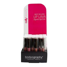 Bodyography Display Liquid Lipstick Best Of 24pcs