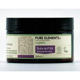 Pure Elements Auffüllende Shea Butter Maske - BIO 200ml