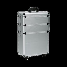 Sibel Aluminiumkoffer mit 3 Stauraumebenen