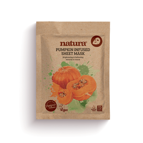 NATURA Mask Pumpkin Infused Sheet 22ml