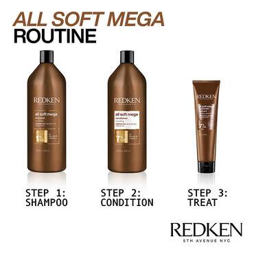 Redken All Soft Mega Shampoo 1l