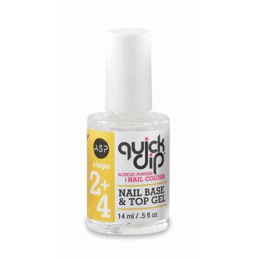ASP Quick Dip Acryl Nail Base & Top Gel 14ml