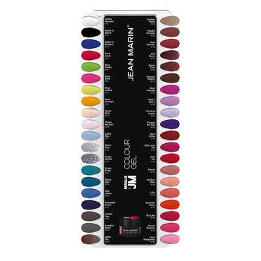 JEAN MARIN Gel Color Chart 2017