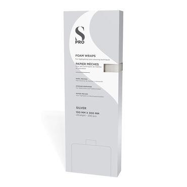 S-PRO Foam Wraps Silver 100mmx300mm 200pcs