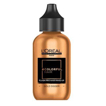 L'Oréal Colorful Hair Flash Pro Hair Make-Up 60ml GoldDigger