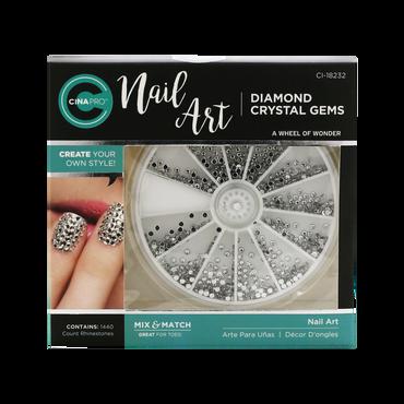 Cina Pro Nail Art Diamond Crystal Gems