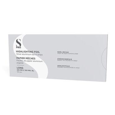 S-Pro Alufolie Blätter, lang 225mmx100mmx18u 100St.