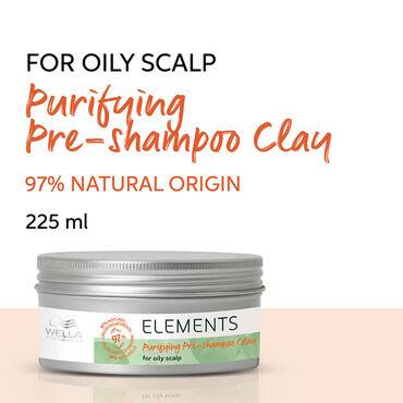 Wella Professionals Elements Puriying Pre-Shampoo Clay 225ml