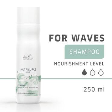 Wella NutriCurls Waves Shampoo 250ml