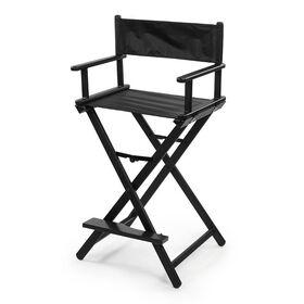 Sibel Make-Up Chair Nathalie Foldable Black/7300753