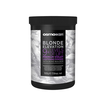 OSMO IKON Blonde Elevation Premium Violet Bleach 9+ With Bond Builder 500g