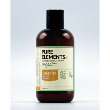PURE ELEMENTS Green Tea Purifying Shampoo 250ml