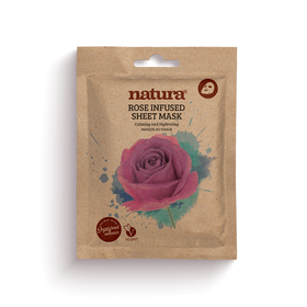 NATURA Mask Rose Infused Sheet 22ml