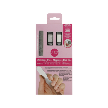 ASP Nailfile Stainless Steel With Disposable