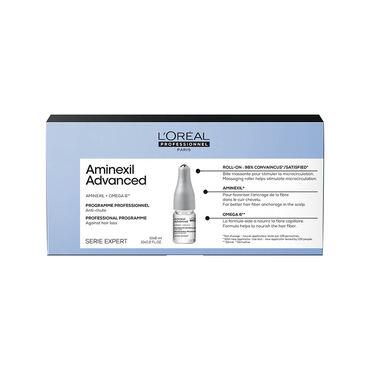 L'Oréal Professionnel Série Expert Aminexil Professionelles Kopfhaut-Serum gegen nicht krankheitsbedingten Haarausfall bei dünner werdendem Haar 10x6ml