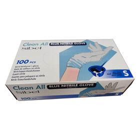 Clean All Blaue Nitrilhandschuhe S 100 pcs