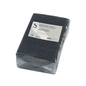 S-Pro Einweghandtücher Schwarz 50stk