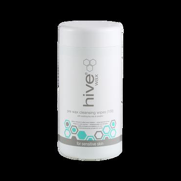 HIVE Pre Wax Cleanser Wipes Tea Tree 100pcs